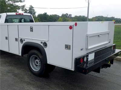 2019 Silverado 3500 Regular Cab DRW 4x4,  Monroe MSS II Service Body #F1190305 - photo 1