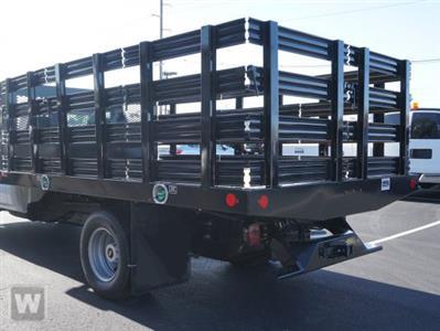 2021 Silverado 3500 Regular Cab 4x2,  Monroe Truck Equipment Work-A-Hauler II Stake Bed #T10847 - photo 1