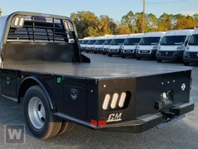 2021 Silverado Medium Duty Regular Cab DRW 4x4,  CM Truck Beds SK Model Platform Body #M1110730 - photo 1