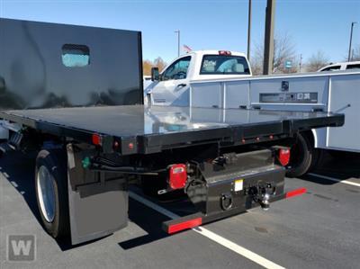 2020 Silverado 5500 Regular Cab DRW 4x2,  PJ's Truck Bodies Platform Body #FK7339X - photo 1
