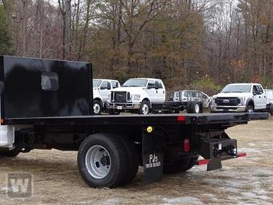 2021 Silverado 5500 Regular Cab DRW 4x4,  PJ's Truck Bodies Platform Body #26875 - photo 1