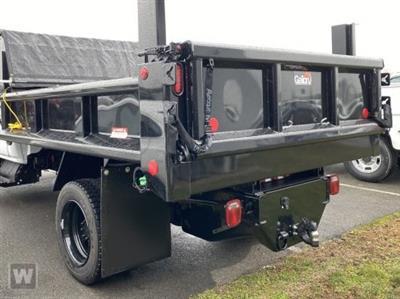 2021 Silverado Medium Duty Regular Cab DRW 4x4,  Galion 100U Dump Body #MH250716 - photo 1