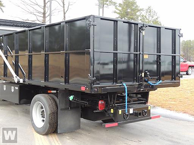 2021 Silverado 5500 Regular Cab DRW 4x2,  PJ's Truck Bodies Landscape Dump #T10282 - photo 1