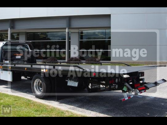2019 F-550 Regular Cab DRW 4x4,  Jerr-Dan Standard Duty Carriers Rollback Body #WU19740 - photo 1