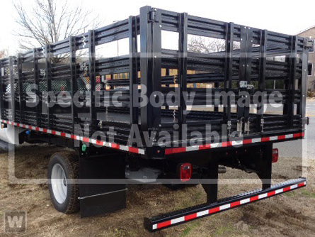 2021 F-750 Regular Cab DRW 4x2,  Morgan Truck Body Stake Bed #MDF06766 - photo 1