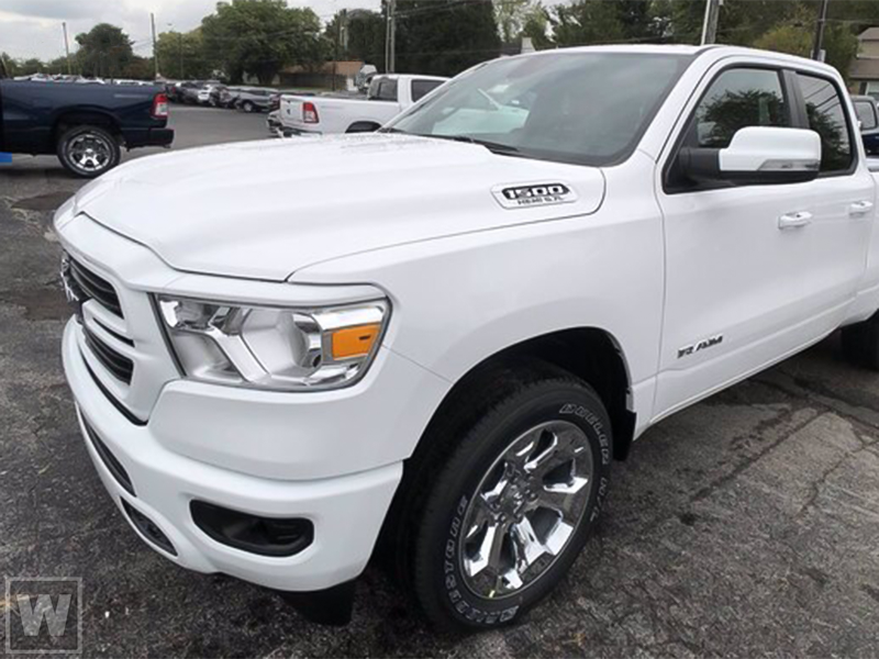 2021 Ram 1500 Quad Cab 4x4, Pickup #DTT210207 - photo 1