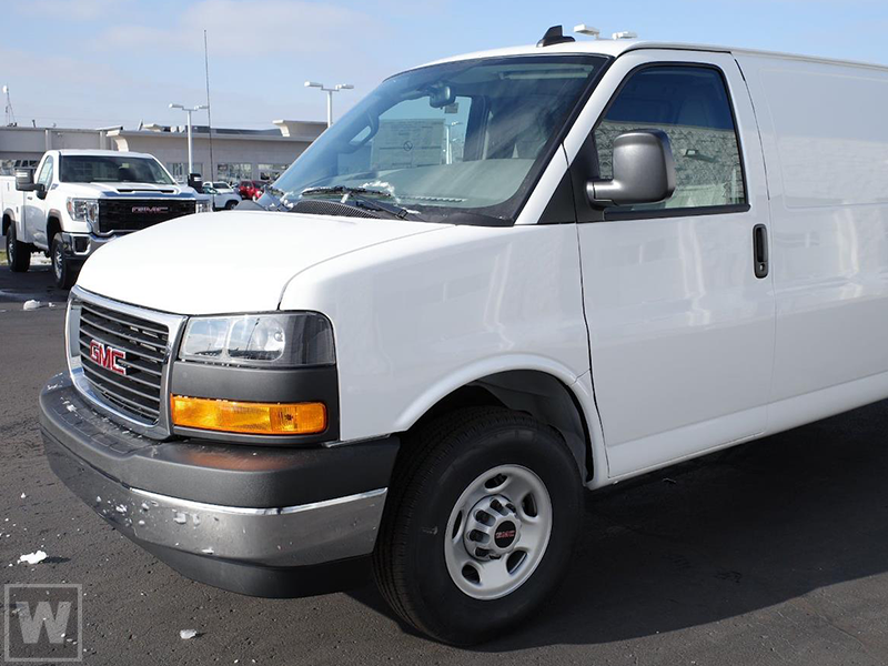 2021 GMC Savana 2500 4x2, Empty Cargo Van #G511644 - photo 1