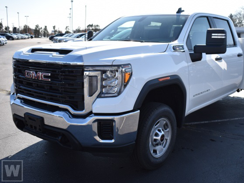 2021 GMC Sierra 2500 Crew Cab 4x2, Cab Chassis #MF106338 - photo 1