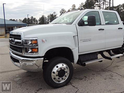 2021 Chevrolet Silverado 4500 Crew Cab DRW 4x4, Stahl Service Body #T10400 - photo 1