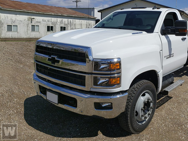 2021 Chevrolet Silverado 4500 Regular Cab DRW 4x4, Cab Chassis #T210773 - photo 1