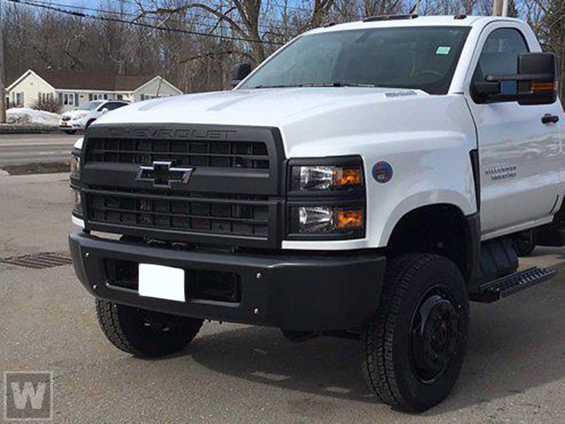 2021 Chevrolet Silverado 5500 Regular Cab DRW 4x2, Scelzi CTFB Contractor Body #MH614329 - photo 1