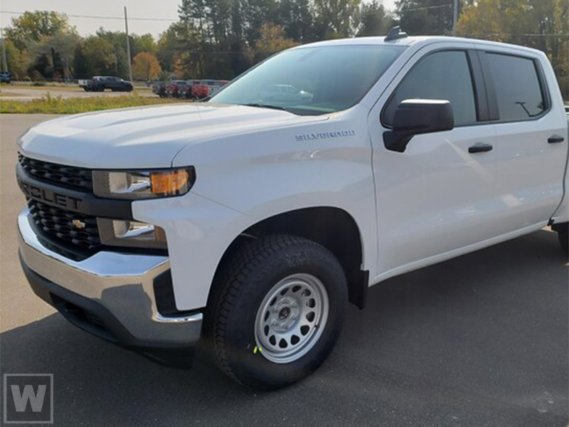 2021 Chevrolet Silverado 1500 Crew Cab 4x2, Pickup #M21197 - photo 1