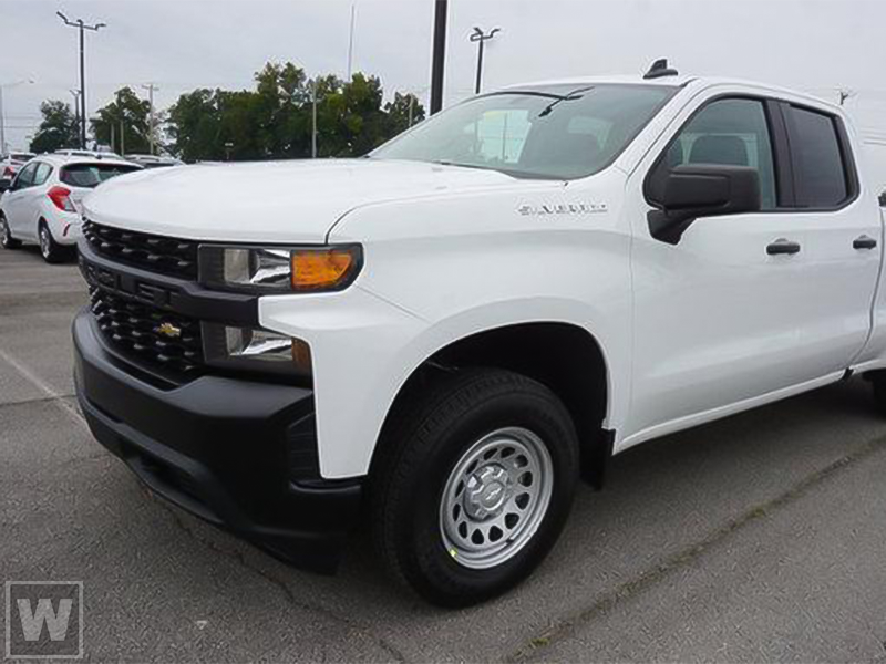 2021 Chevrolet Silverado 1500 Double Cab 4x2, Pickup #C3443 - photo 1