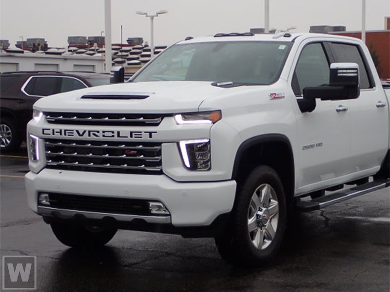 2021 Chevrolet Silverado 2500 Crew Cab 4x4, Pickup #D110237 - photo 1
