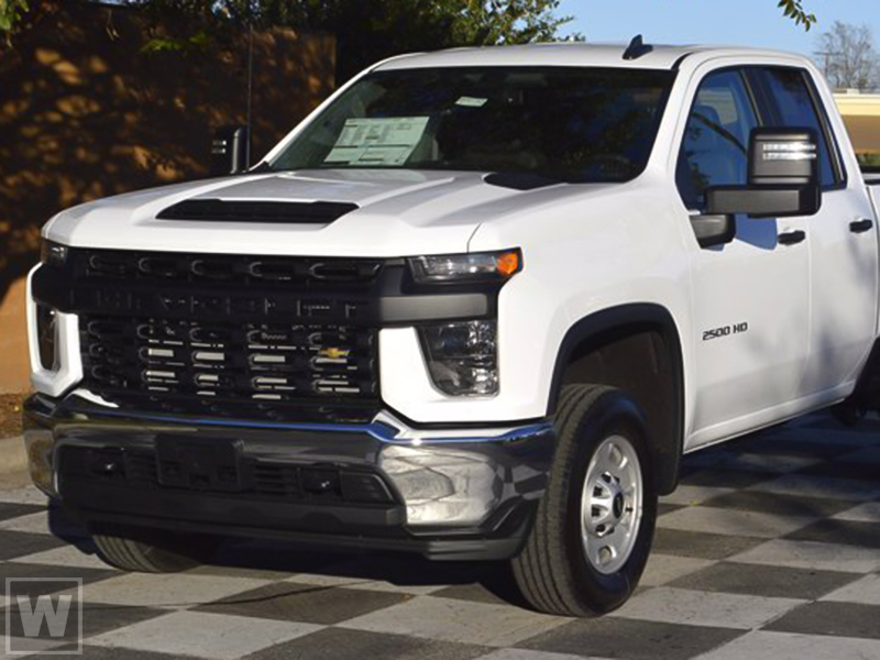 2021 Chevrolet Silverado 2500 Double Cab 4x2, Cab Chassis #24295 - photo 1