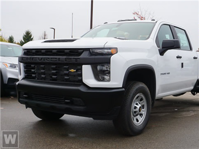 2021 Chevrolet Silverado 3500 Crew Cab AWD, Palfinger PAL Pro 20 Crane Body #CM29470 - photo 1