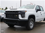 2021 Chevrolet Silverado 3500 Crew Cab 4x4, Duramag Aluminum Landscape Dump Chipper Body #S1661M - photo 1