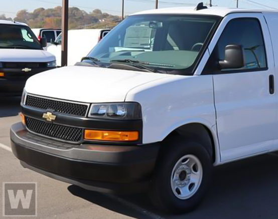 2021 Chevrolet Express 2500 4x2, Adrian Steel Upfitted Cargo Van #1G168472 - photo 1