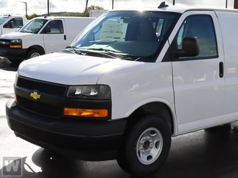 2021 Chevrolet Express 3500 4x2, Empty Cargo Van #M21265 - photo 1