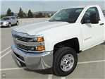 2016 Silverado 2500 Regular Cab 4x4, Monroe Service Utility Van #4288Q - photo 1