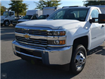 2016 Silverado 3500 Regular Cab DRW 4x4, Morgan Stake Bed #165804 - photo 1