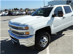 2016 Silverado 3500 Crew Cab 4x4, Hillsboro Platform Body #16-5298 - photo 1