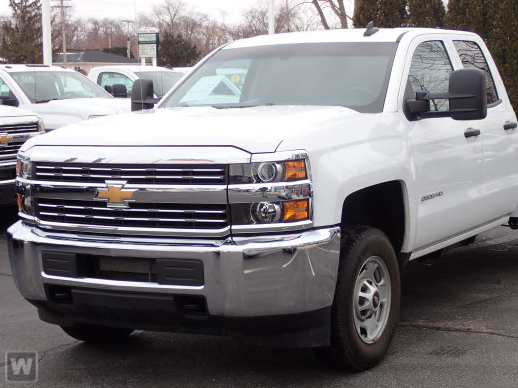 2017 Silverado 2500 Double Cab 4x2,  Cab Chassis #238657DT - photo 1