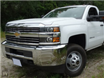 2017 Silverado 3500 Regular Cab DRW 4x4,  Monroe Platform Body #F41301 - photo 1