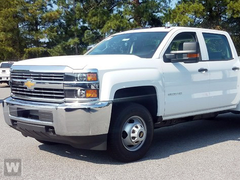 2017 Silverado 3500 Crew Cab DRW 4x2,  Reading Service Body #T170893 - photo 1