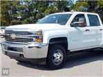 2017 Silverado 3500 Crew Cab DRW 4x4, Knapheide Contractor Body #TR66564 - photo 1