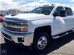 2017 Silverado 3500 Crew Cab 4x4,  Freedom Platform Body #TR64705 - photo 1