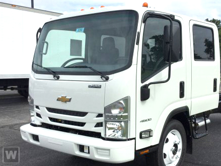 2017 Low Cab Forward Crew Cab 4x2,  Womack Truck Body Dovetail Landscape #F6583 - photo 1