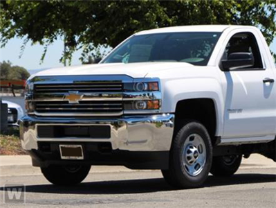2018 Silverado 2500 Regular Cab 4x4, Cab Chassis #JZ252900 - photo 1