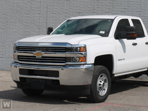 2018 Silverado 2500 Double Cab 4x4,  Reading Classic II Steel Service Body #T81081 - photo 1