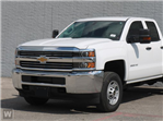 2018 Silverado 2500 Double Cab 4x4, Cab Chassis #JZ240611 - photo 1