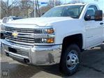 2018 Silverado 3500 Regular Cab DRW 4x4,  Monroe Platform Body #JF234107 - photo 1