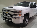 2018 Silverado 3500 Crew Cab DRW 4x4,  Reading Stake Bed #T6106 - photo 1