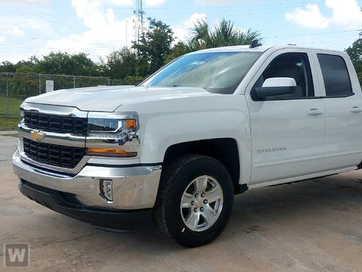 2018 Silverado 1500 Double Cab 4x4, Pickup #GV88287S - photo 1