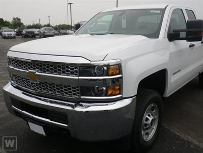 2019 Silverado 2500 Double Cab 4x4, Western Snowplow Pickup #85168 - photo 1