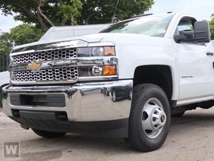 2019 Silverado 3500 Regular Cab DRW 4x2,  Knapheide Stake Bed #CKF106352 - photo 1