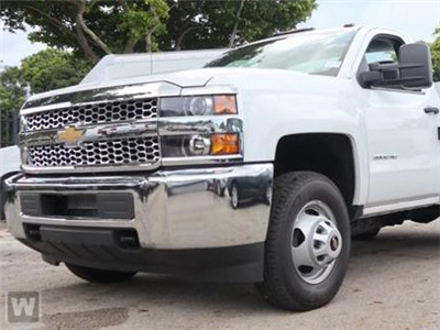 2019 Silverado 3500 Regular Cab DRW 4x2,  Royal Contractor Body #KF122186 - photo 1