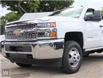 2019 Silverado 3500 Regular Cab DRW 4x2,  Harbor Flat/Stake Bed #193108 - photo 1