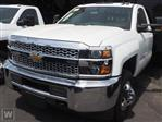 2019 Silverado 3500 Regular Cab DRW 4x2,  Morgan Flat/Stake Bed #190992 - photo 1