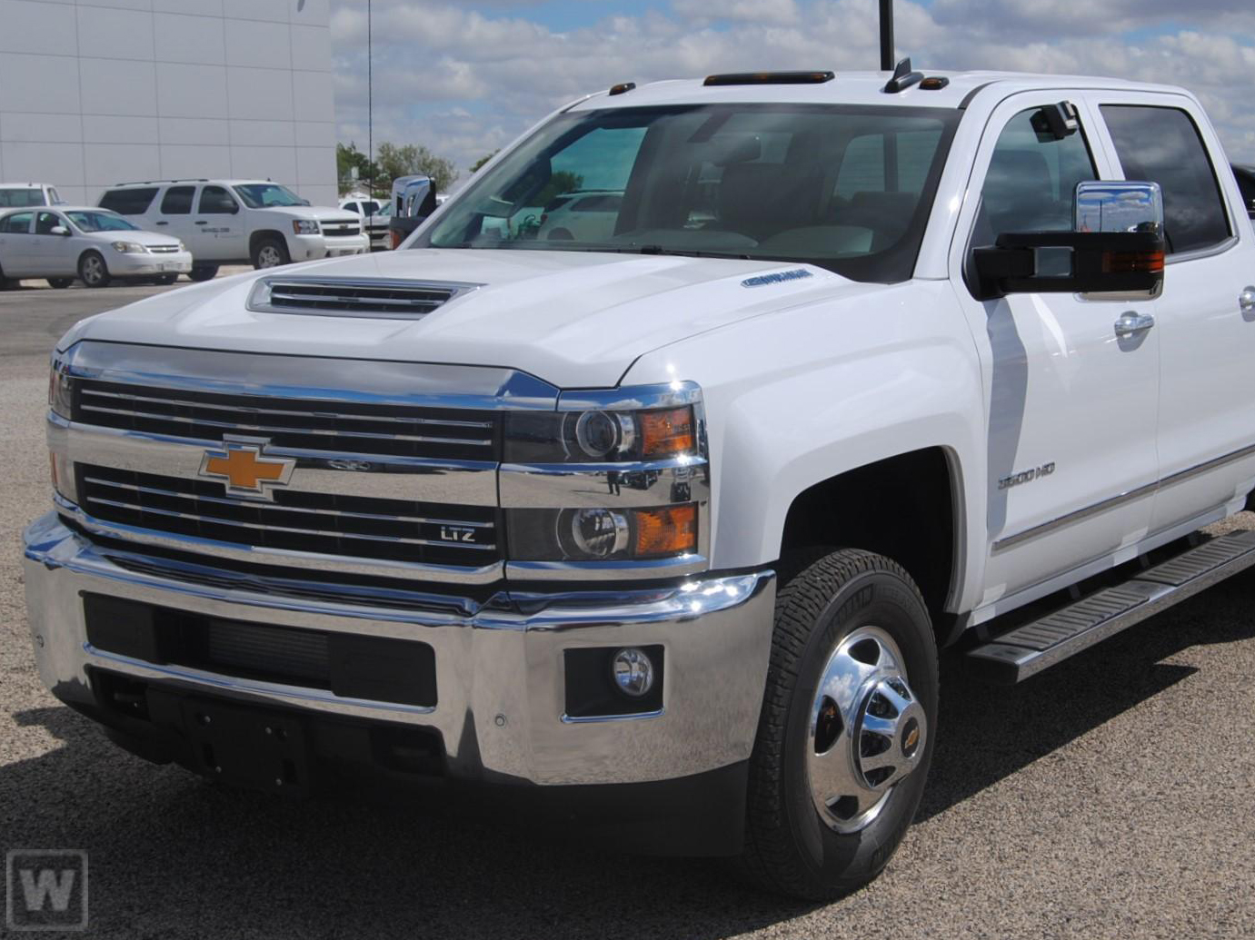 2019 Silverado 3500 Crew Cab 4x4,  Pickup #919591K - photo 1