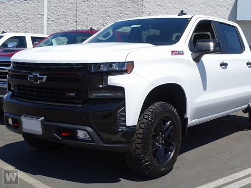 2019 Silverado 1500 Crew Cab 4x4,  Pickup #KZ151603 - photo 1
