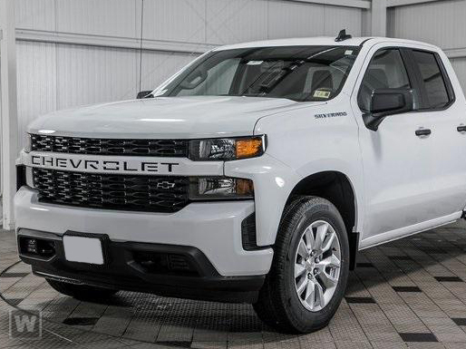 2019 Silverado 1500 Double Cab 4x2,  Pickup #19T428 - photo 1