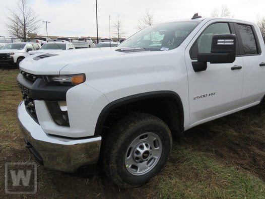 2020 Chevrolet Silverado 2500 Double Cab 4x4, Knapheide Steel Service Body #20-8250 - photo 1