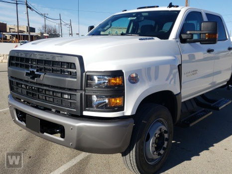 2020 Chevrolet Silverado 4500 Regular Cab DRW 4x4, Parkhurst Stake Bed #20MD19W - photo 1