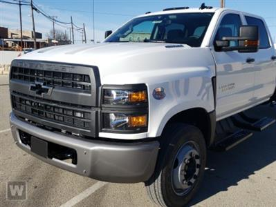 2020 Chevrolet Silverado Medium Duty Regular Cab DRW 4x4, Morgan Prostake Stake Bed #25674 - photo 1
