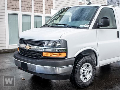 2020 Chevrolet Express 3500 4x2, Kargo Master Upfitted Cargo Van #T209013 - photo 1